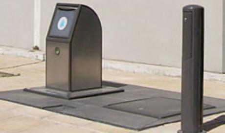 Poubelle enterrée Montpellier